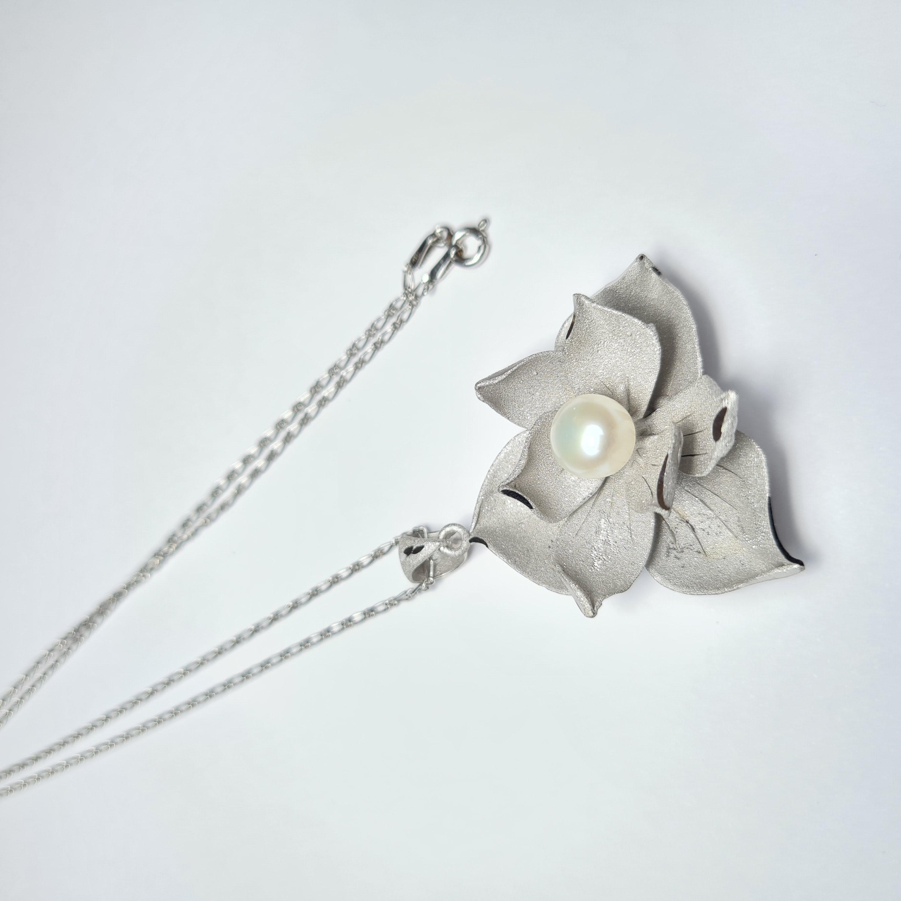 Cn argento perle