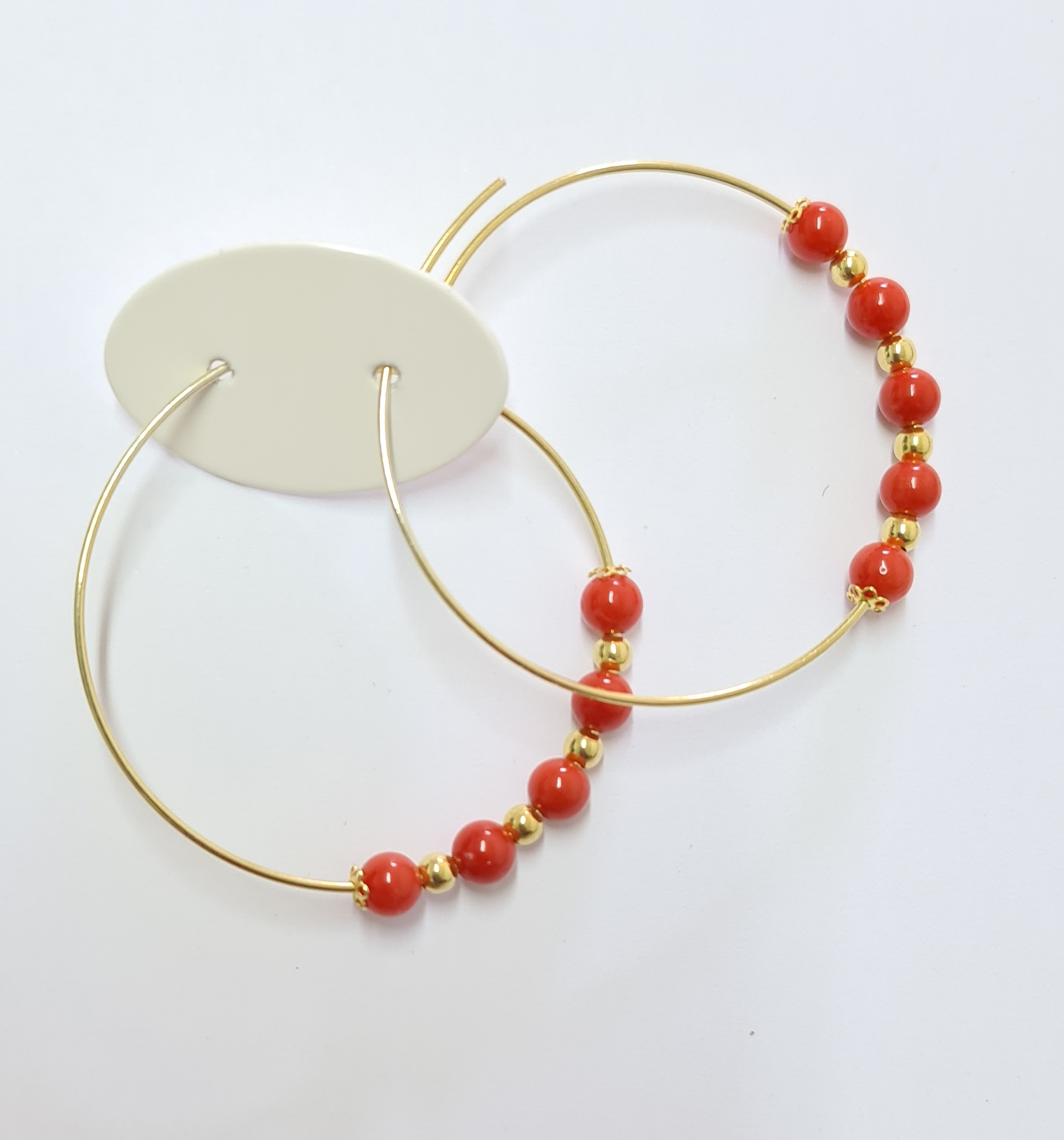 Or coral end silver